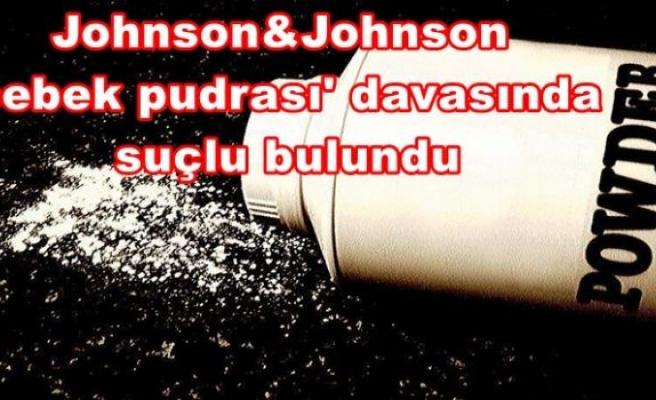 Johnson&Johnson 'bebek pudrası' davasında suçlu bulundu