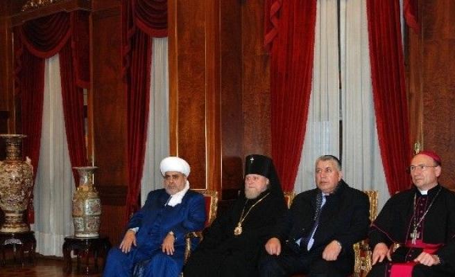 Kafkasya Ve Azerbaycan Şeyhülislamı'dan Patrik Ziyareti
