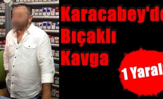 Karacabey'de Bıçaklı Kavga:1 Yaralı