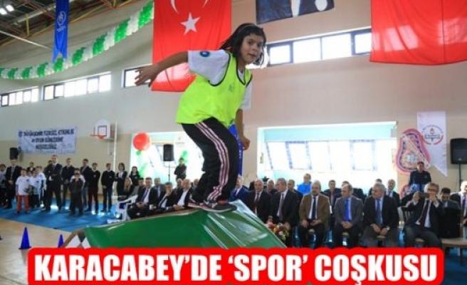 Karacabey'de Spor Çoşkusu
