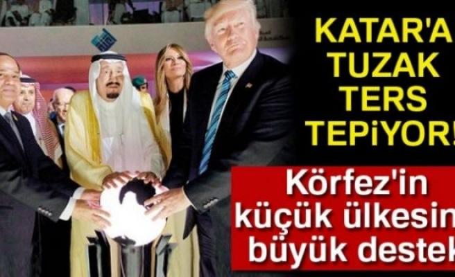 KATAR'A TUZAK TERS TEPİYOR!