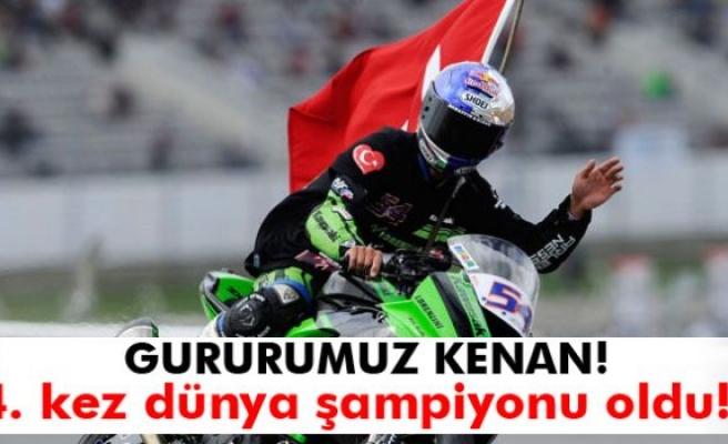 Kenan Sofuoğlu Dünya Şampiyonu Oldu!
