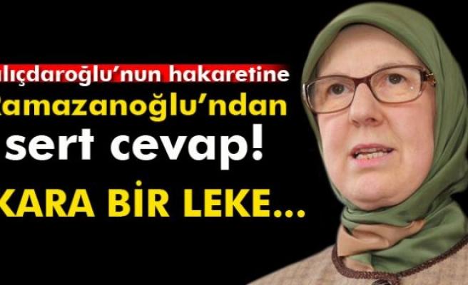 Kılıçdaroğlu'nun hakaretine Ramazanoğlu'ndan sert cevap!