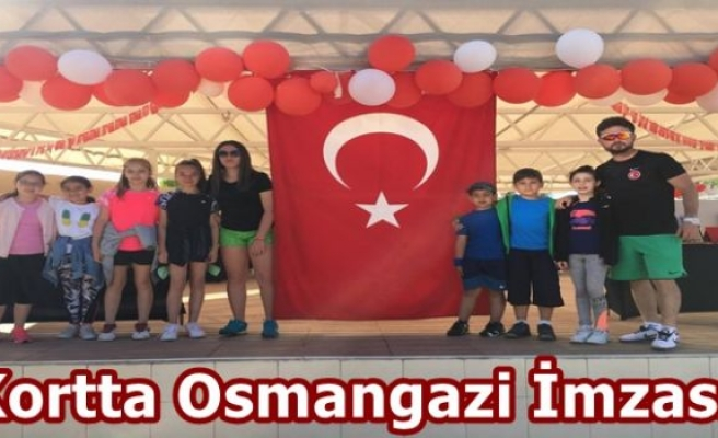 Kortta Osmangazi İmzası
