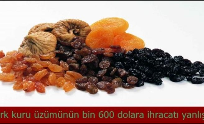 Kuru meyve sektörü katma değerli ihracatın formülünü arıyor