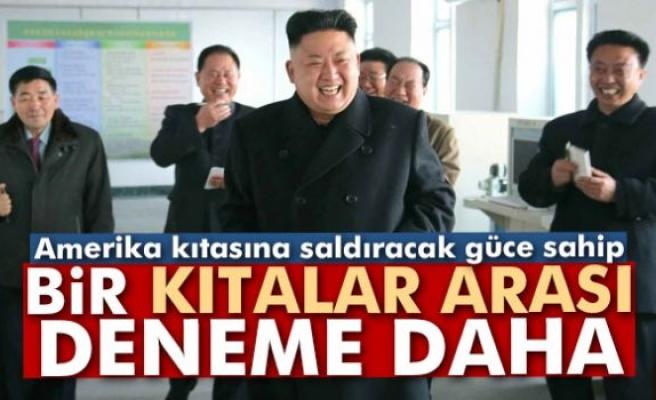 Kuzey Kore'den bir kıtalar arası deneme daha