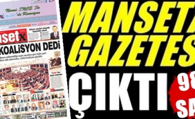 Manşetx Gazetesinin 98. Sayısı Çıktı