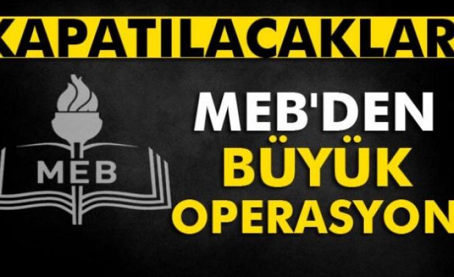 MEB'den büyük operasyon!