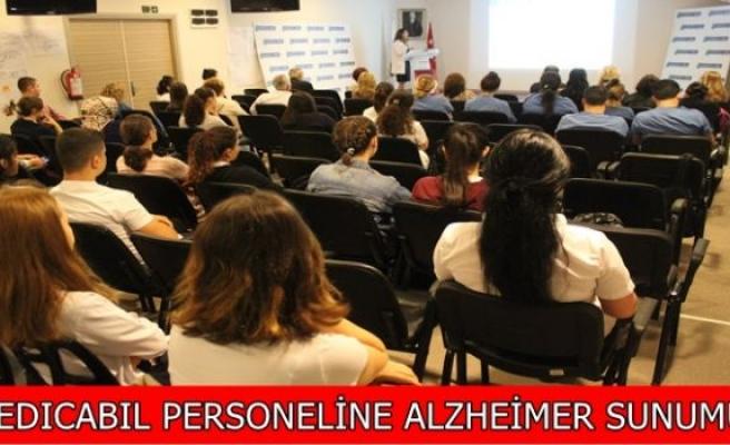MEDICABIL PERSONELİNE ALZHEİMER SUNUMU