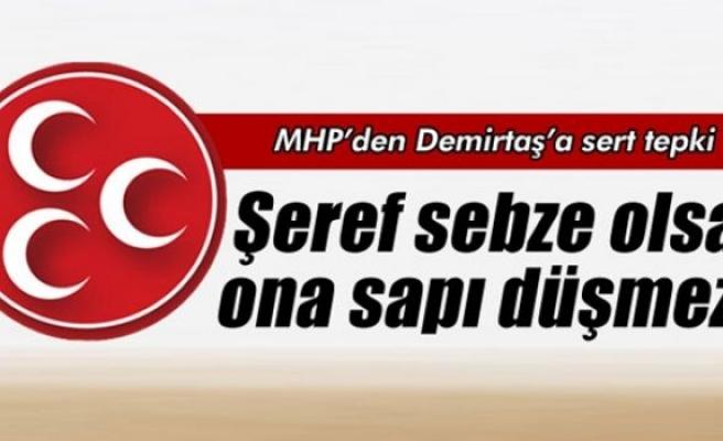 MHP'den Demirtaş'a tepki