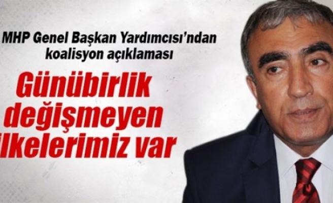 MHP'li Öztürk'ten koalisyon açıklaması