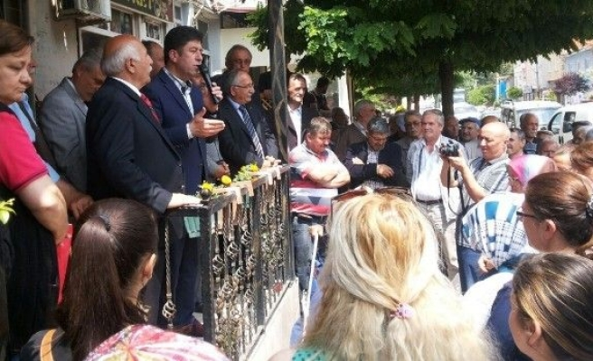 Milletvekili Yaşar Tüzün Teşekkür Ziyaretlerine Başladı