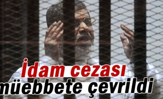 Mursi'nin idam cezası müebbete çevrildi