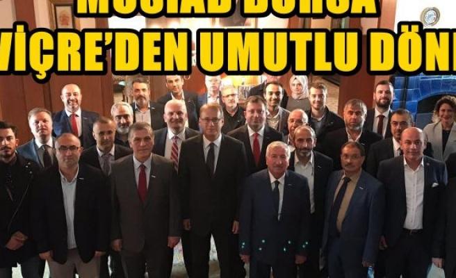 MÜSİAD BURSA İSVİÇRE'DEN UMUTLU DÖNDÜ