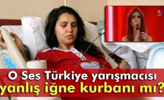 O Ses Türkiye yarışmacısı Cennet yanlış iğne kurbanı mı?