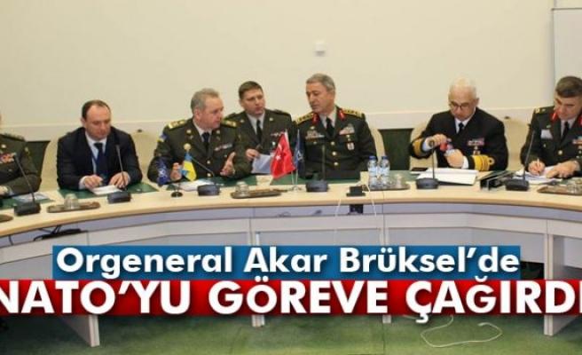 Orgeneral Akar, Brüksel'de Genelkurmay Başkanları Toplantısı'na katıldı
