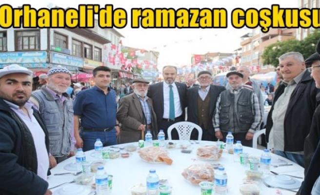 Orhaneli'de ramazan coşkusu