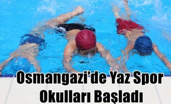 Osmangazi'de Yaz Spor Okulları Başladı