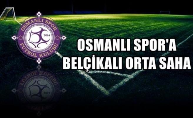 Osmanlıspor'a Belçikalı orta saha
