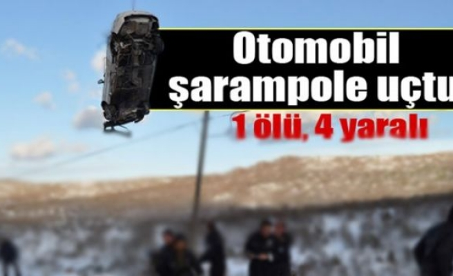 Otomobil 50 metrelik şarampole uçtu: 1 ölü 4 yaralı