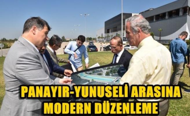 Panayır-Yunuseli arasına modern düzenleme