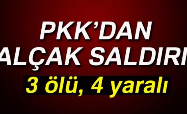PKK'DAN ALÇAK SALDIRI!