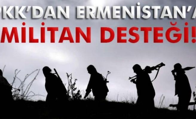 PKK'dan Ermenistan'a terörist desteği!