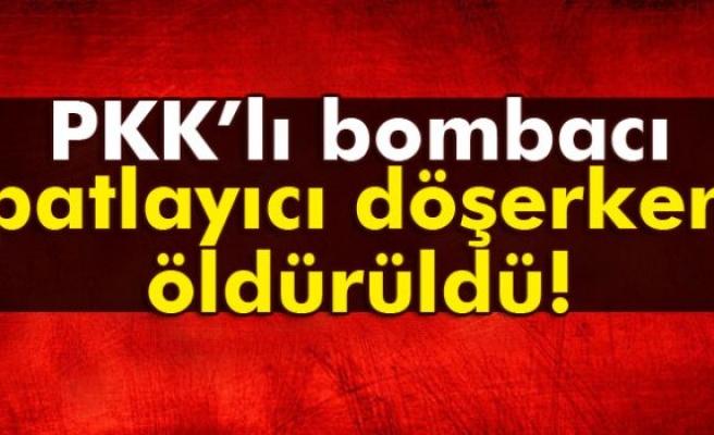 PKK'nın bombacısı öldürüldü