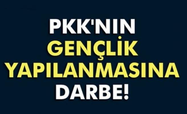 PKK'nın gençlik yapılanmasına darbe