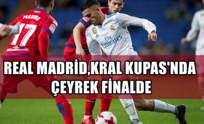 Real Madrid, Kral Kupası'nda çeyrek finalde