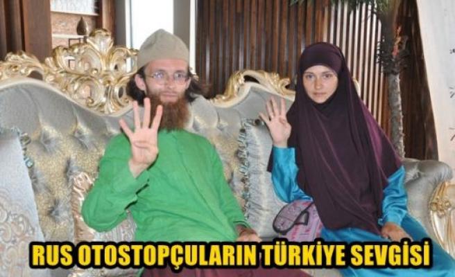 Rus otostopçuların Türkiye sevgisi