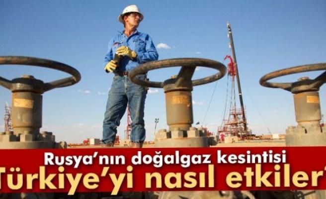 Rusya'nın doğalgaz kesintisi Türkiye'yi nasıl etkiler?