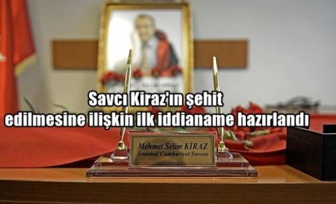 Savcı Kiraz'ın şehit edilmesine ilişkin ilk iddianame hazırlandı