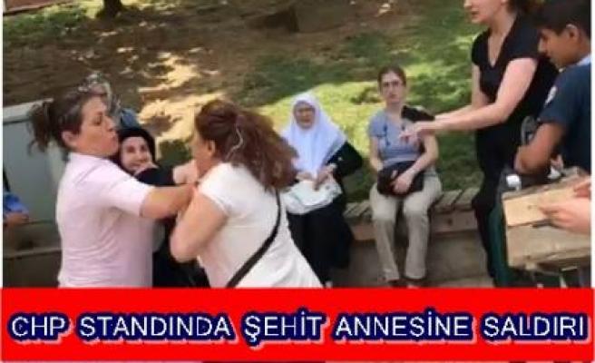 ŞEHİT ANNESİNE ÇİRKİN SALDIRI