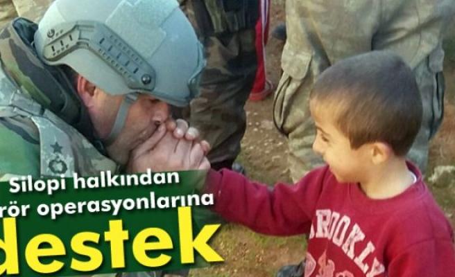 Silopi halkından terör operasyonlarına destek