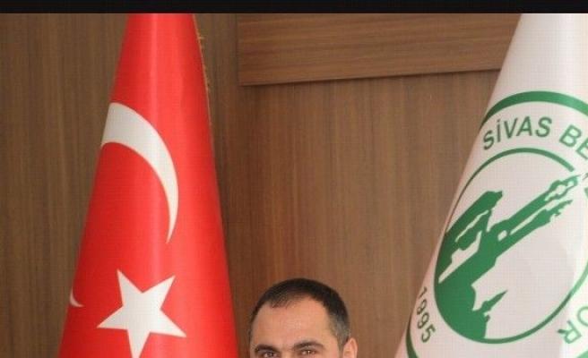Sivas Belediyespor Başkanı Tunahan'dan Geçmiş Olsun Mesajı