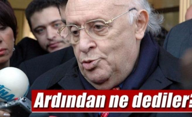 Süleyman Demirel'in ardından ne dediler?