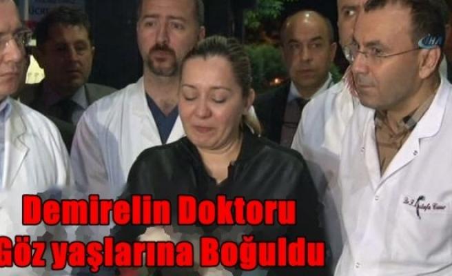 Süleyman Demirel'in doktoru gözyaşlarını tutamadı