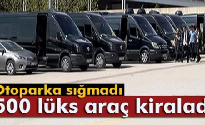 Suudi Arabistan Kralının Ankara ziyareti için 500 lüks araç kiralandı