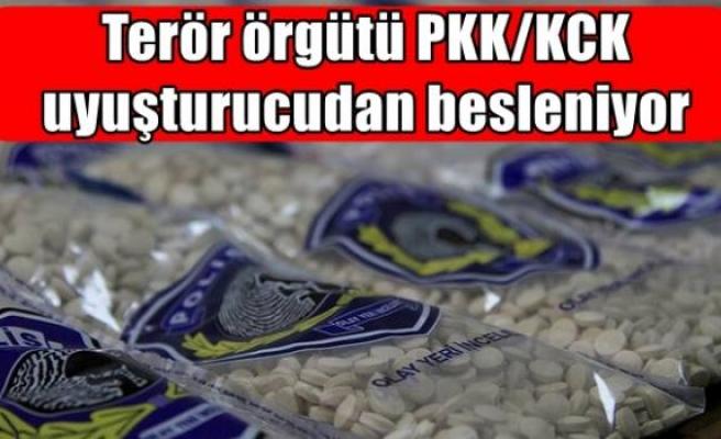 Terör örgütü PKK/KCK uyuşturucudan besleniyor