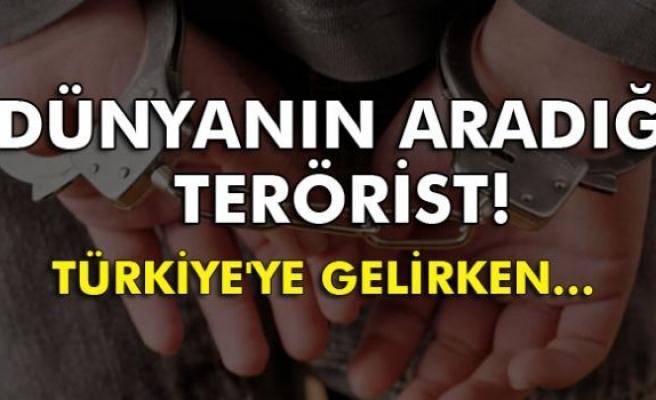Terör zanlısı İsveç'te Türkiye uçağına binerken yakalandı
