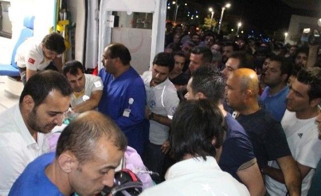 Tunceli'deki çatışmada yaralan polisler Elazığ'a getirildi