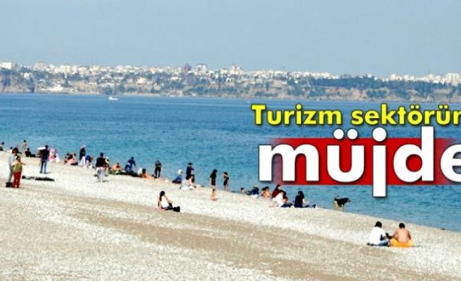 Turizm sektörüne müjde!