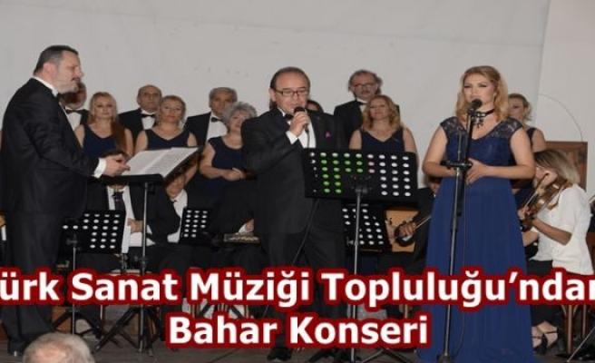 Türk Sanat Müziği Topluluğu'ndan Bahar Konseri