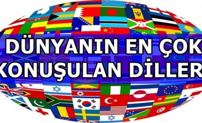 Türkçe en fazla konuşulan diller arasında yer aldı