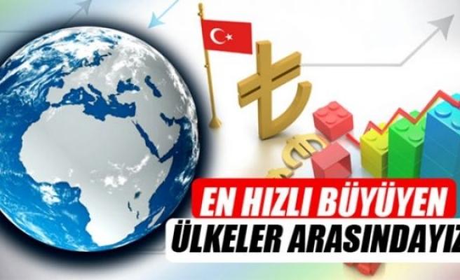 Türkiye dünyanın en hızlı büyüyen 15 ülkesi arasında