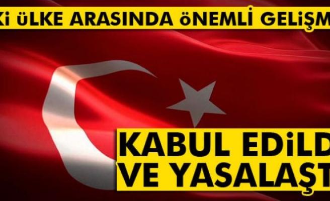 Türkiye ile Karadağ arasındaki 5 anlaşma kabul edildi