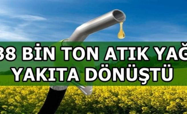 Türkiye'de kişi başına toplanan yıllık atık yağ miktarı 200 gram