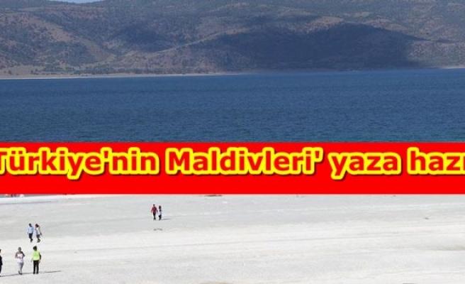 'Türkiye'nin Maldivleri' yaza hazır
