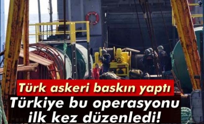 Türkiye'nin uluslararası sularda gerçekleştirdiği ilk operasyon